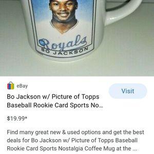 Topps Bo Jackson Mug for Sale in East Wenatchee, WA