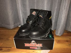 Leather steel toe boots for Sale in Vancouver, WA