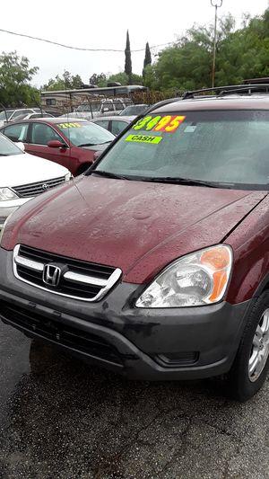 HONDA CRV 03 $3,495 cash $1,600 down for Sale in San Antonio, TX