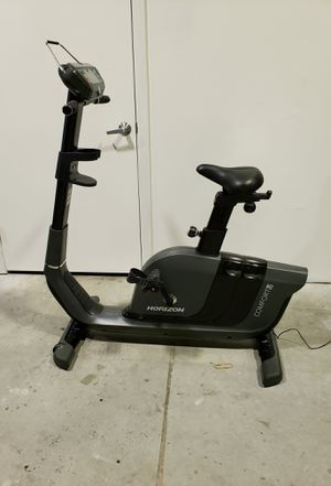 Horizon Comfort U upright exercise bike for Sale in Clearwater, FL