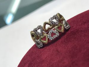 Gold heart ring fcp2224 for Sale in Houston, TX