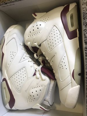 JORDAN 6s Maroon WORN 1 time only size 10. for Sale in Dublin, OH