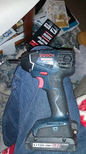 Bosch impact drill 18 volt for Sale in Erwin, NC