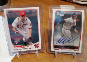Anthony Rendon auto rookie PLUS 2nd rookie for Sale in Alexandria, VA