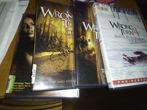 Wrong turn DVDs. Don't watch them 10 for all 4 for Sale in Indianapolis, IN