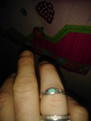 Turquoise and sterling silver ring for Sale in Hilliard, OH