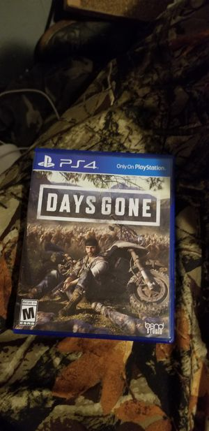 Days gone and kingdom hearts 3 ps4 for Sale in Kearns, UT
