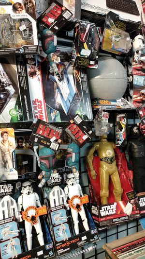 Star Wars toys just arrived for Sale in San Diego, CA