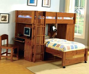 Bunk Beds Twin Over Twin - $66/month for Sale in Centennial, CO