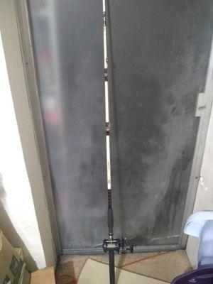 Shimano Triton Speed Master TSM200FS Fishing Reel Abu Garcia Commodore Pole Combo for Sale in Pompano Beach, FL