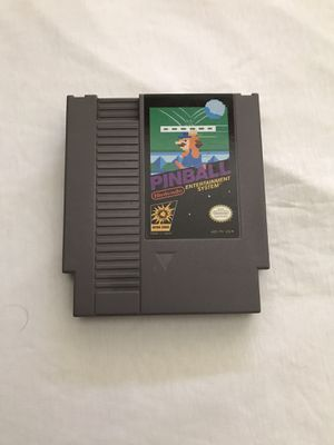 """Original Nintendo NES Game """"Pinball"""" Plays Fine Great Condition for Sale in Reedley, CA"""