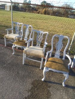 Farm Farmhouse dining chairs Midcentury - Delivery available for Sale in Houston,  TX