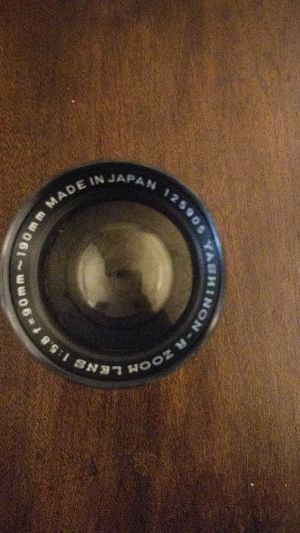 Yashinon - R Zoom Lens for 35mm camera for Sale in Webster Groves, MO