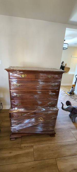 Antique upright dresser for Sale in Phoenix, AZ