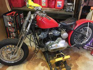 "Harley Davidson XLCH ""basket"" for Sale in Bridgewater, MA"