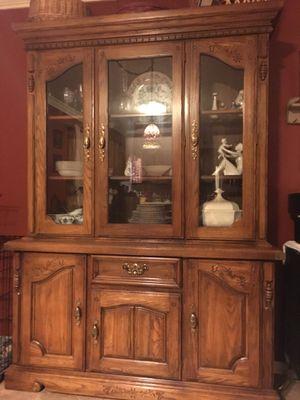 Broyhill Oak Hutch for Sale in Shortsville, NY