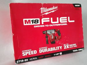 "Milwaukee M18 Fuel Brushless Rotary Hammer *SDS-Plus 1-1/8"" NEW for Sale in Kent, WA"