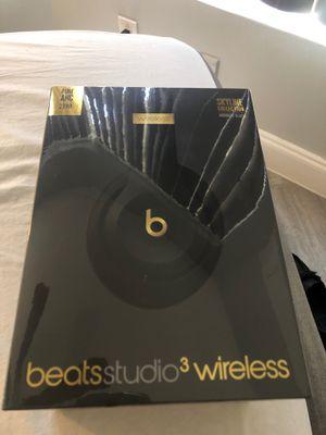Beats studio 3 wireless (midnight black) for Sale in Boca Raton, FL