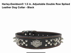 Harley Davidson Leather Dog Collar for Sale in Tarpon Springs, FL