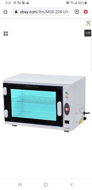 MSD-208 UV light Sterilizer Cabinet for Sale in Bellflower, CA