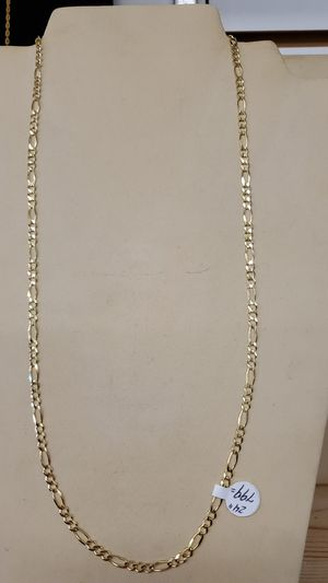 Solid gold 10kt cuban link chain 24inch for Sale in Pepper Pike, OH