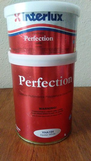 Interlux perfection high gloss marine paint for Sale in Houston, TX