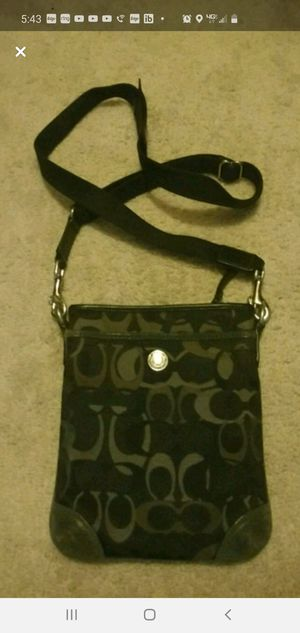 Authentic Coach messenger bag for Sale in Laurel, MD