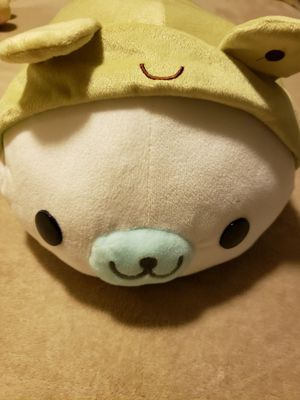 """Sanx Mamegoma 16"""" Green Frog Costume White Seal for Sale in Hayward, CA"""