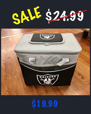 READ Description of NFL OAKLAND RAIDERS 24 CAN COOLER. for Sale in Greenbelt, MD