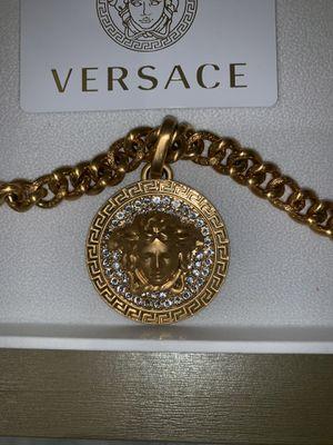 Versace Swarovski Chain Necklace for Sale in Beaverton, OR