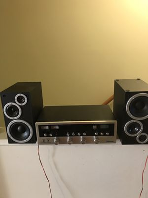 Streo with speakers and Bluetooth for Sale in Harrisonburg, VA