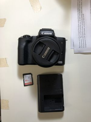 Canon eos m50 for Sale in Indianapolis, IN