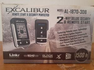 Super 2way alarm w/remote start. for Sale in Gulfport, MS