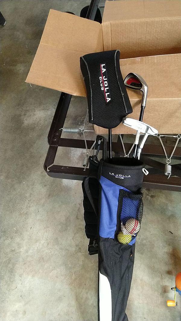 Kid's golf set