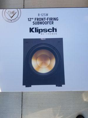Klipsch R-12SW subwoofer for Sale in Grand Prairie, TX
