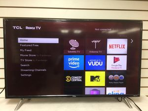 "TCL 40"" ROKU TV LED HDTV NO REMOTE for Sale in Coral Springs, FL"
