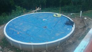 33ft round swimming pool for Sale in House Springs, MO