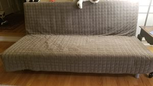 Great condition Ikea Futon sofabed with storage box for Sale in Sammamish, WA