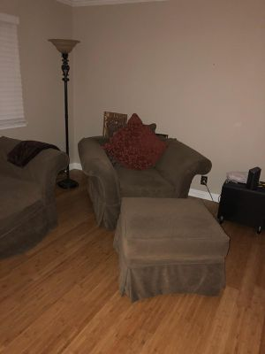Handmade couch and chair with ottoman for Sale in Fresno, CA