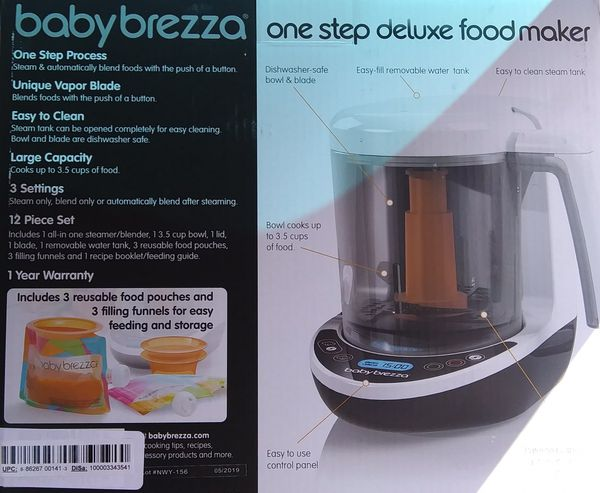 Baby Brezza One Step Food Maker
