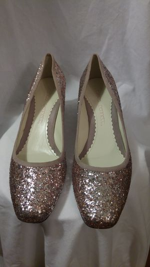 Jessica Bennett Rose Gold Glitter Shoes for Sale in Baltimore, MD