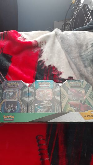Pokemon 3 pack Tins UnOpen for Sale in Manassas, VA