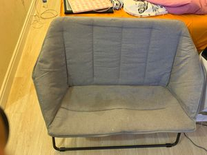 Grey foldable Chair for Sale in Los Angeles, CA