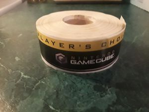 GAMECUBE: Player's Choice Stickers from the Gamecube era! Collector's Item! for Sale in Clayton, NC