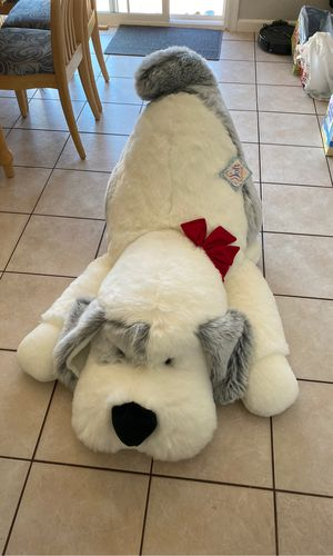 Huge stuffed animal toy dog about 4ft x 2ft for Sale in Concord, CA