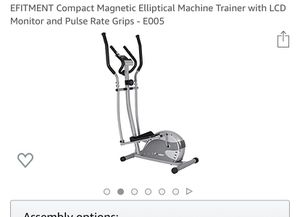 Compact Elliptical. Good condition for Sale in Santa Clara, CA