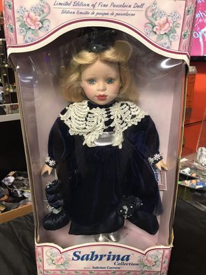 Sabrina Collection - Limited Edition Of Fine Porcelain Doll for Sale in Vancouver, WA