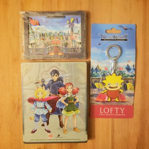 Ni no Kuni 2 Collectors Edition PS4 steelbook game not included for Sale in Fullerton, CA