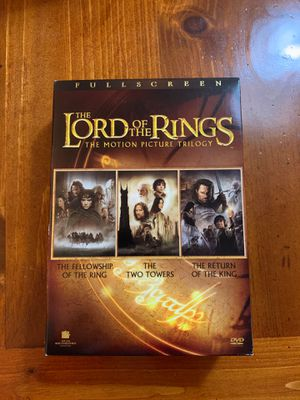 The Lord of the Rings trilogy DVD for Sale in Miami Beach, FL