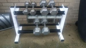 BODY SOLID DUMBBELL WEIGHT RACK for Sale in Columbus, OH